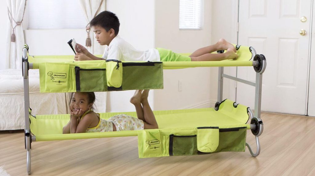kids camping bunk beds for toddlers