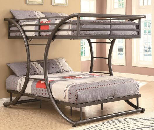 best queen over queen adult bunk beds