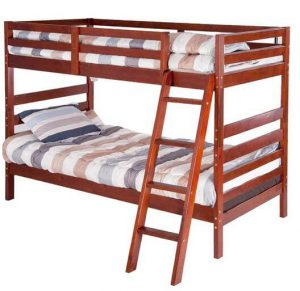 Introduction - Merax Twin Over Twin Bunk Bed, Solid Wood1