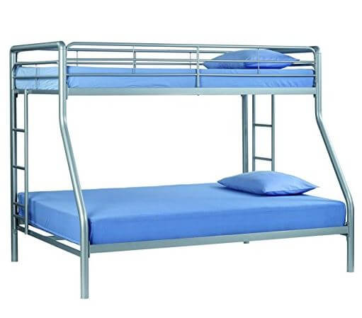 Sturdy Kids Sturdy Twin Over Full Metal Bunk Bed With Stairs Good