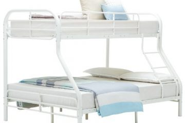 Hansentus Metal Twin over Full Bunk Bed