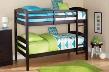 Mainstays Twin over Twin Wood Bunk Bed2