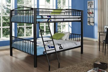 Powell Heavy Metal Bunk Bed2