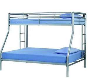 Review Sturdy Kids Sturdy Twin Over Full Metal Bunk Bed With