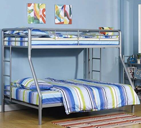 Sturdy Kids Sturdy Twin Over Full Metal Bunk Bed 4