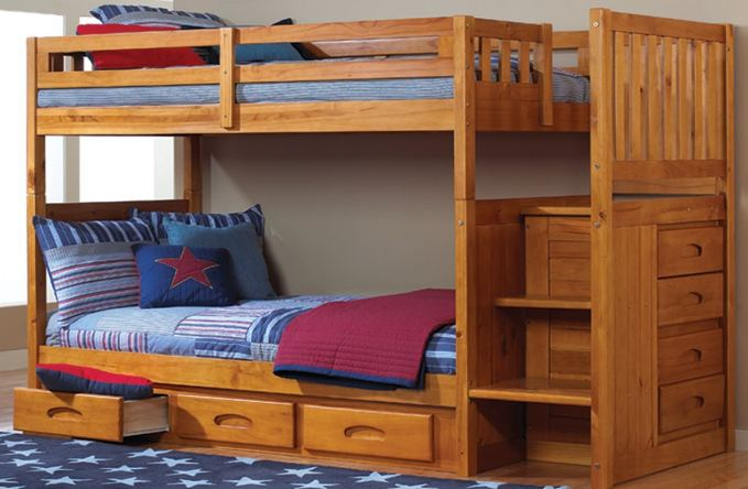 The BEST Top 3 Bunk Beds With Stairs and Storage4