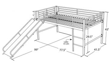 Bunk beds for toddlers featured image