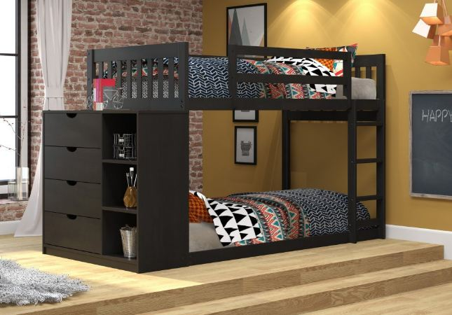 DONCO Kids 1600TTW Mission Chest Bunkbed