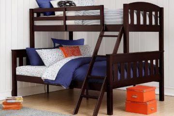 Dorel Living Airlie Twin over Full Bunk Bed1