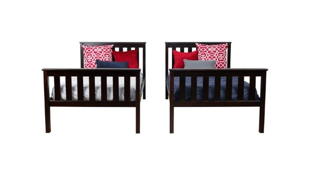 Max & Lily Solid Wood Twin over Twin Bunk Bed5